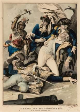 [PRINTS-HISTORIC] DEATH OF MONTGOMERY