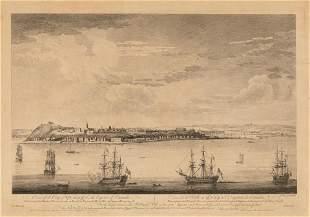 [PRINTS-HISTORIC] SMYTH VIEW OF QUEBEC CITY