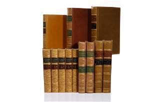 [BINDINGS] 3 WORKS IN 12 VOLUMES SOLD TOGETHER