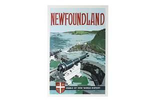 [POSTER] NEWFOUNDLAND: CRADLE OF NEW WORLD HISTORY