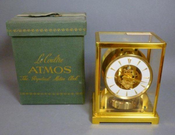 1006: JAEGER LECOULTRE ATMOS CLOCK