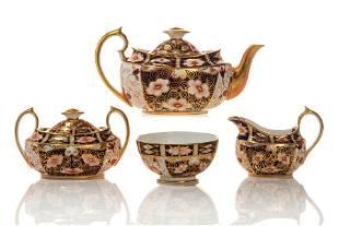 ROYAL CROWN DERBY IMARI PORCELAIN TEA SERVICE
