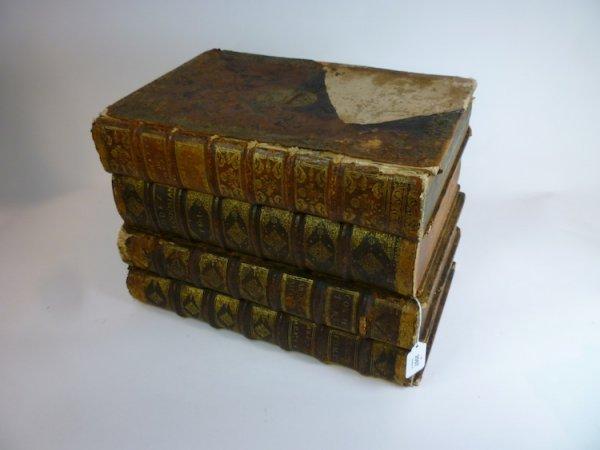 2007: LEATHER BOUND 19TH CEN BOOK-FORM CAVE A LIQUEUR