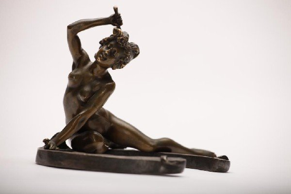 2012: GEORGE RECIPON FRENCH BRONZE NUDE