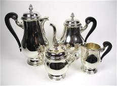 1102 CHRISTOFLE SILVER PLATED TEA   COFFEE SERVICE