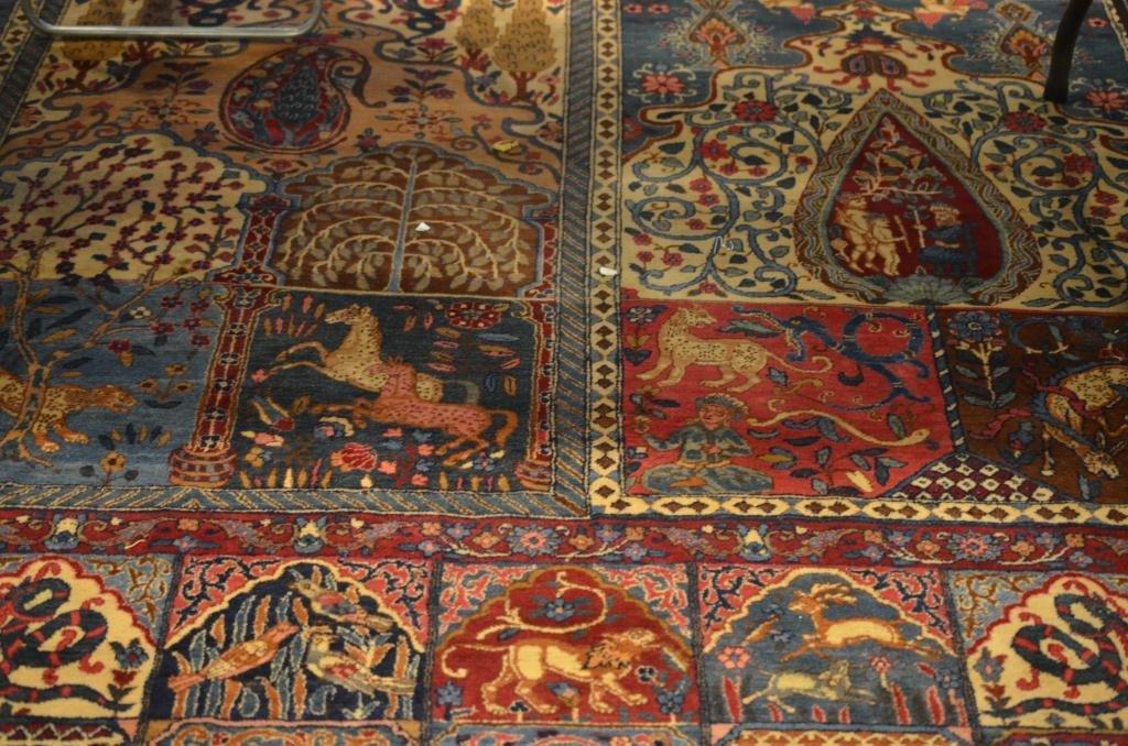 3205: PERSIAN GARDEN TABRIZ RUG