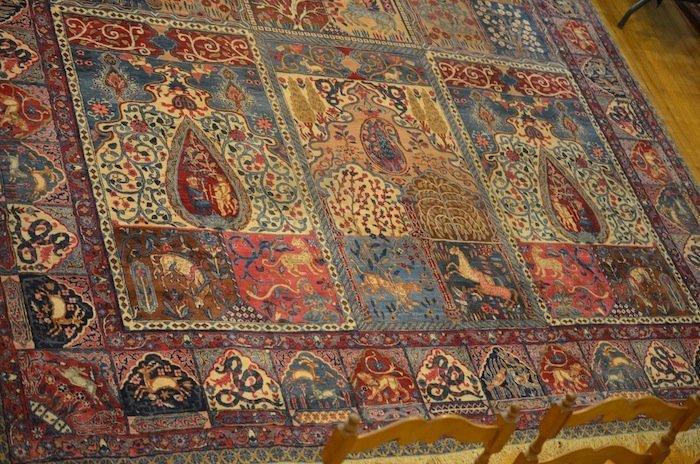 3205: PERSIAN GARDEN TABRIZ RUG - 4