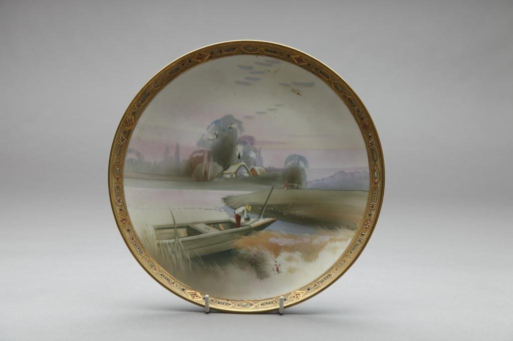 2013: NIPPON HAND PAINTED PLAQUE