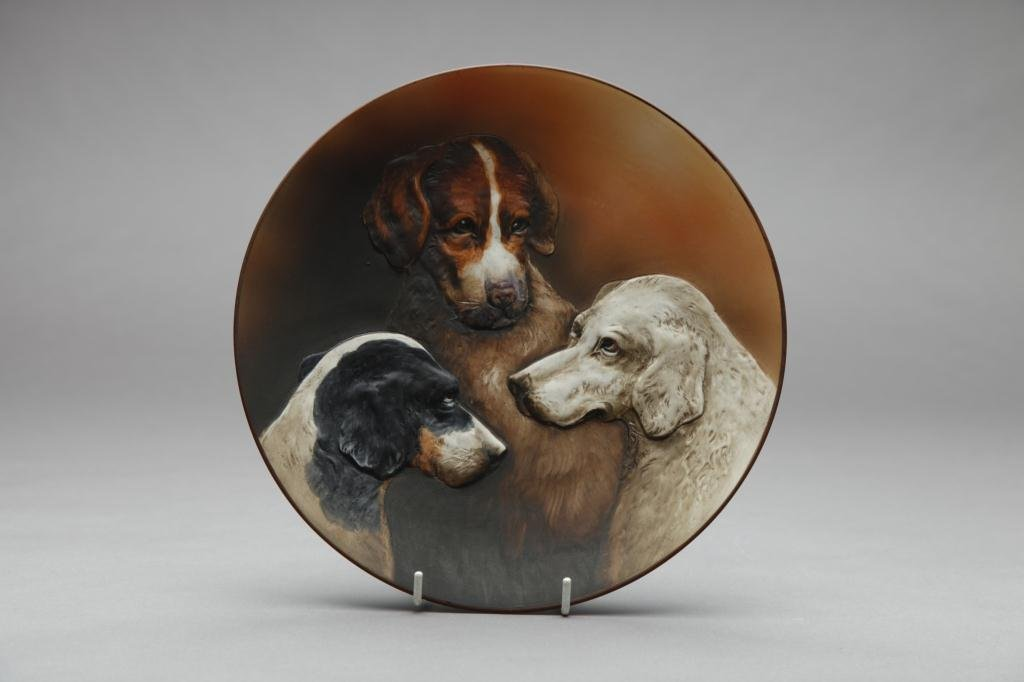 2016: NIPPON MOULDED THREE DOG PLAQUE