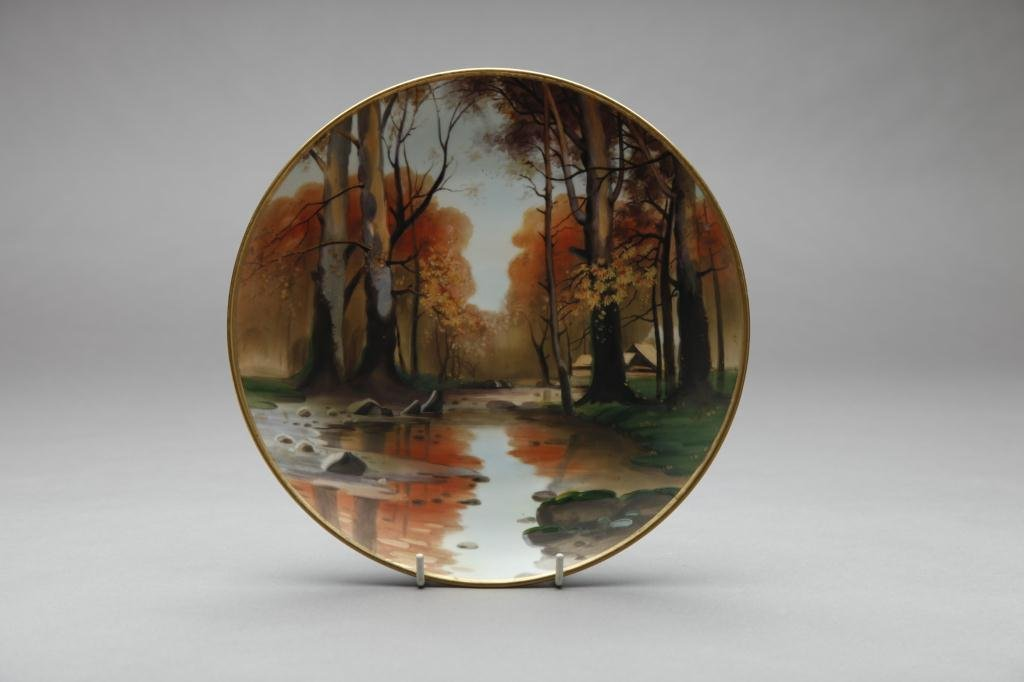 2019: NIPPON HAND PAINTED PLAQUE