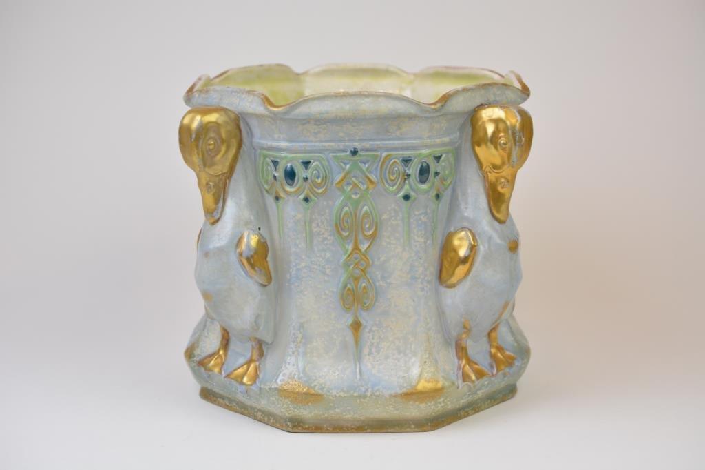 Amphora Pottery Secessionist Jardiniere