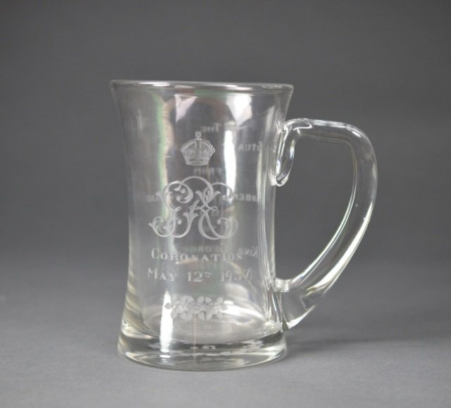 T Goode & Co. Royal Commemorative glass mug