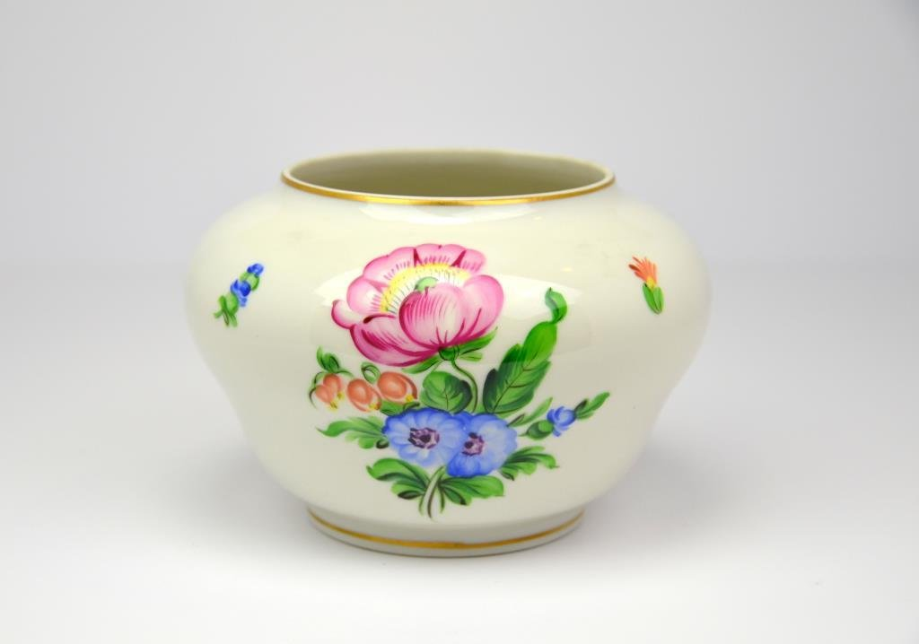 Herend Hand Painted Porcelain Vase