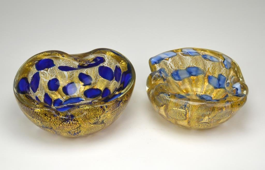 Two Murano Glass Bowls