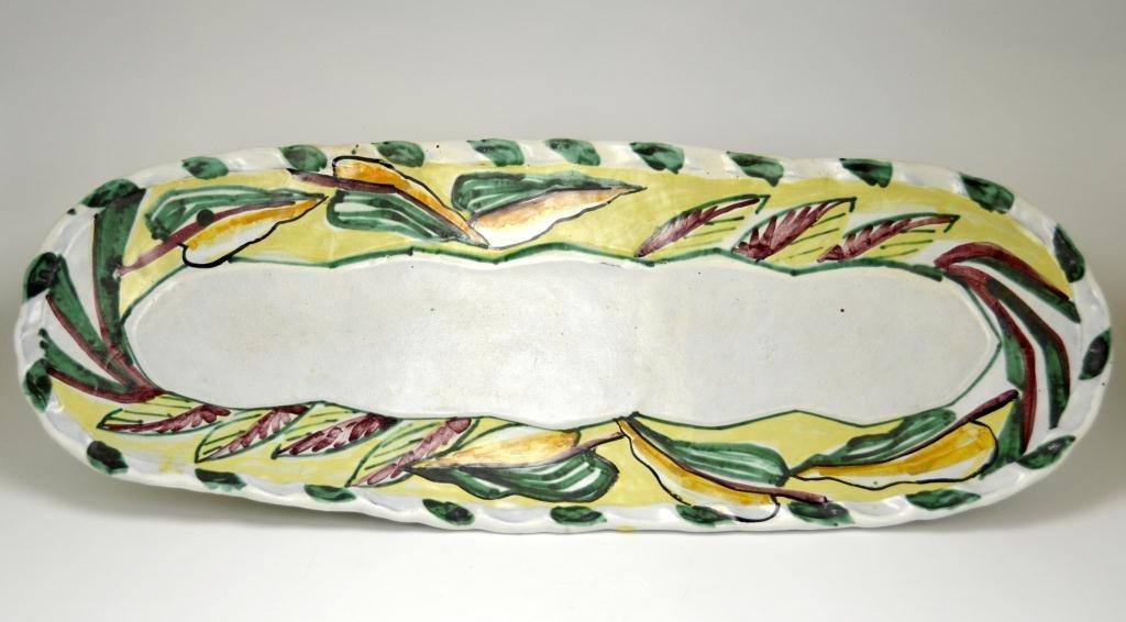 Dale Pereira Canadian Studio Pottery Fish Platter
