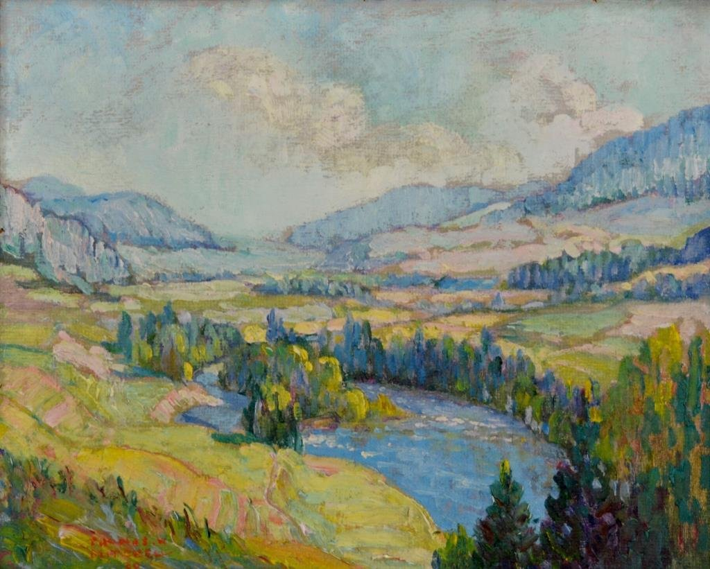 Thomas Wilberforce MITCHELL (Canadian 1879 - 1958)
