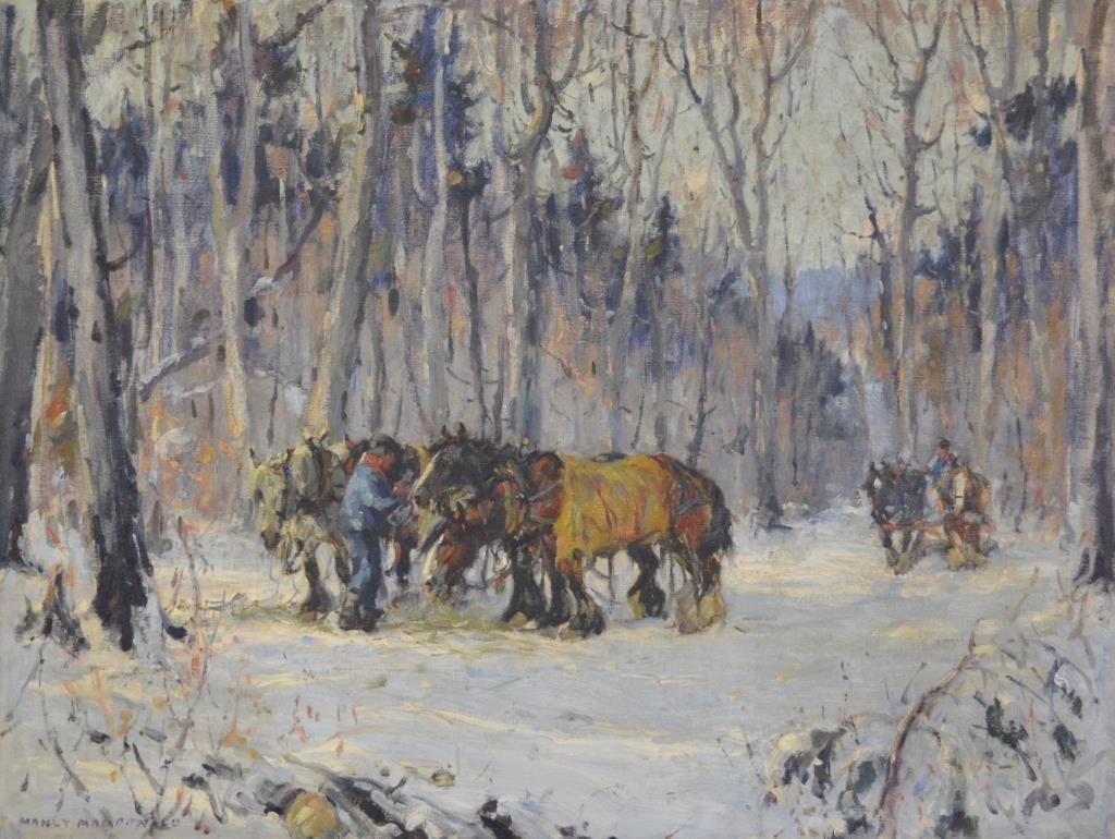 Manly MACDONALD (Canadian 1889 - 1971)
