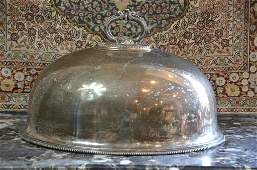 VICTORIAN SILVER PLATED MEAT DOME