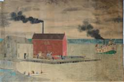 NAIVE SCHOOL (19th C. Canadian)