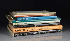 SIX REFERENCE BOOKS -- SILVER