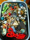 LARGE LOT OF COSTUME JEWELLERY  ACCESSORIES