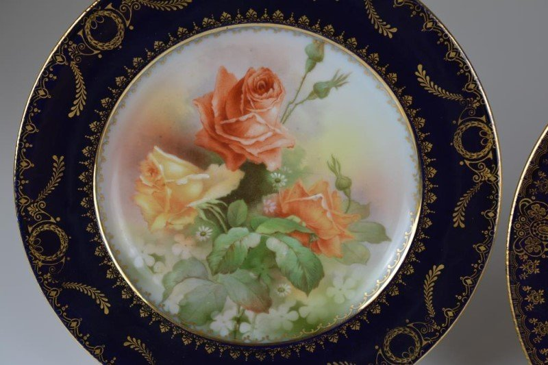 TWO ROYAL VIENNA PORCELAIN CABINET PLATES - 3