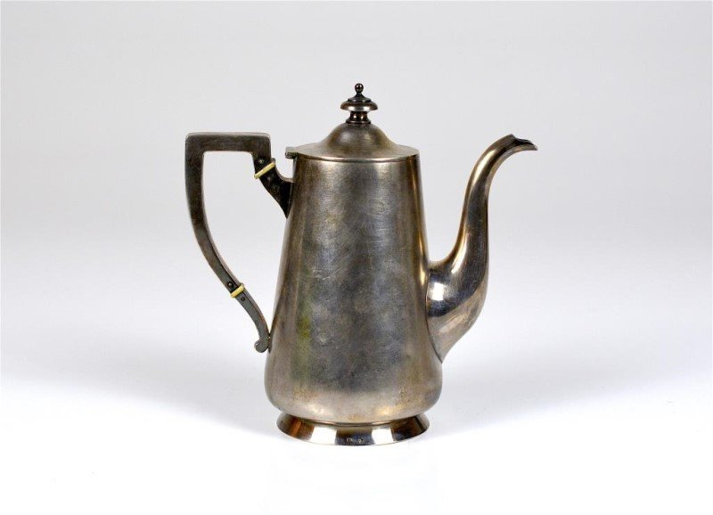 RUSSIAN SILVER COFFEE POT