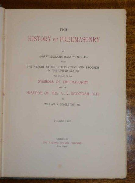 7 VOLUMES: MACKEY & SINGLETON - 3