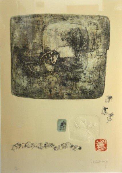 HOI LEBADANG (Vietnamese/French, 1921 - 2015) - 2