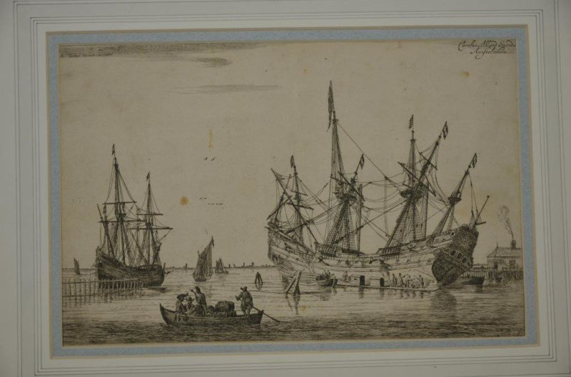 EIGHT ETCHINGS AND ENGRAVINGS - 5