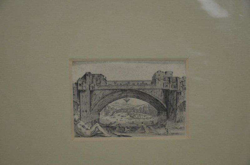 EIGHT ETCHINGS AND ENGRAVINGS - 6