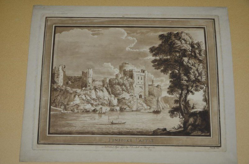 FOUR ETCHINGS: PAUL SANDBY AND FRANK SHORT - 2