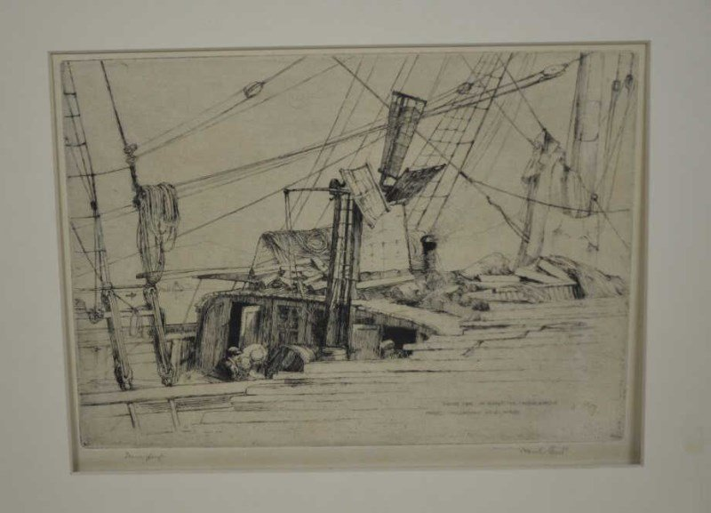 FOUR ETCHINGS: PAUL SANDBY AND FRANK SHORT - 4