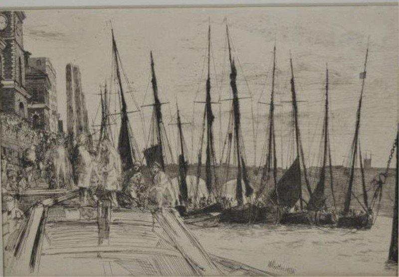 JAMES ABBOTT MCNEILL WHISTLER (American,1834-1903)