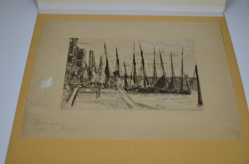JAMES ABBOTT MCNEILL WHISTLER (American,1834-1903) - 2