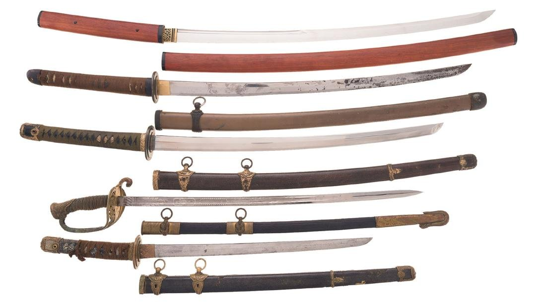 Five Swords, Mostly Japanese Style