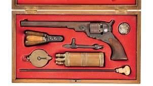 Cased Copy Colt Paterson Revolver