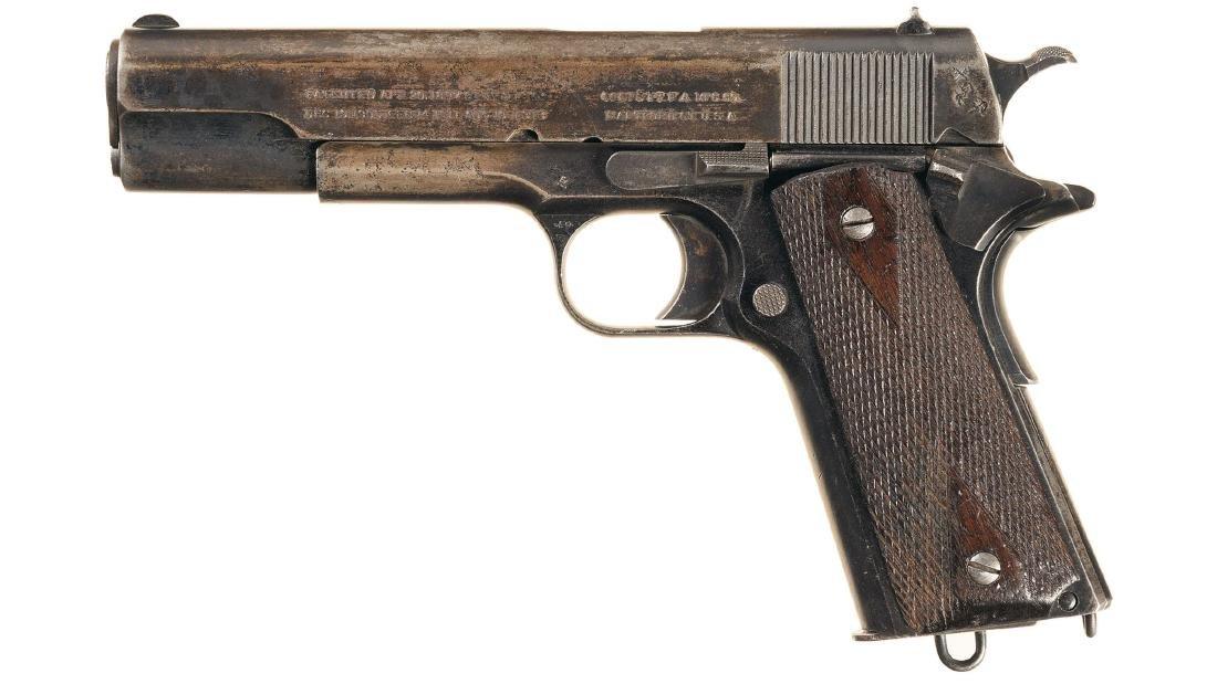 British Proofed Colt Government Model Semi-Automatic