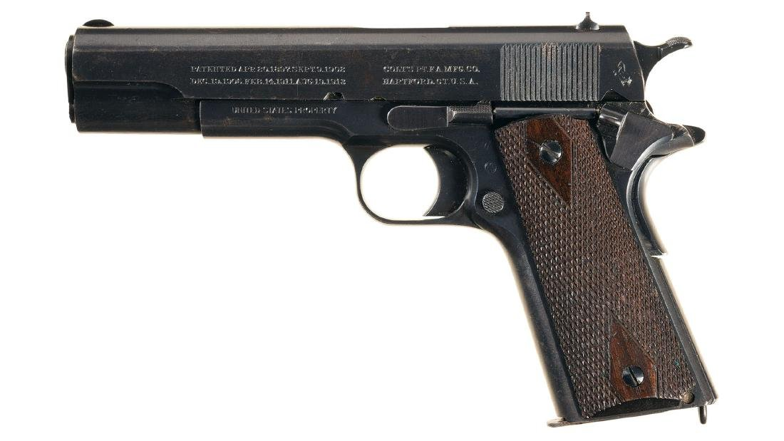 World War I U.S. Army Colt Model 1911 Semi-Automatic