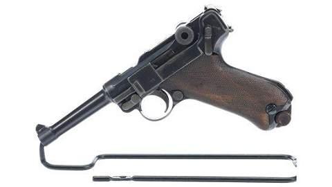 DWM Luger P08 Semi-Automatic Pistol
