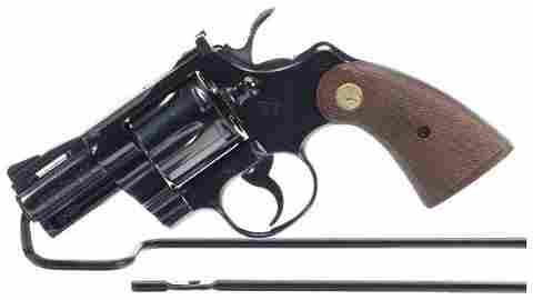 Colt Python Revolver 357 magnum