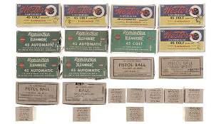 Group of Assorted Vintage .45 Caliber Handgun