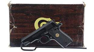 Colt MK IV Series 80 Government Model .380 Pistol with