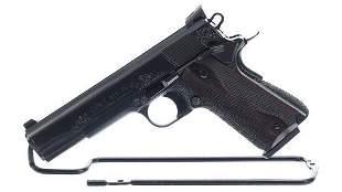 Engraved Colt MK IV Series 80 Government Model Pistol