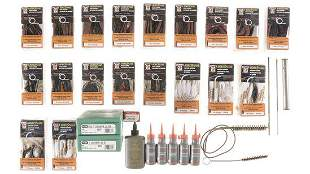 Group of Assorted Cleaning Accessories and Reloading