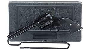 Ruger New Vaquero Single Action Revolver with Case