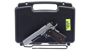 Kimber Custom CDP II Semi-Automatic Pistol with Case
