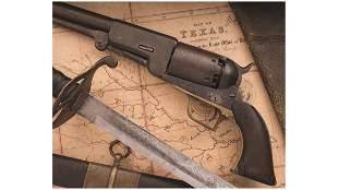 Texas Confederate Cavalryman's Colt Walker Revolver