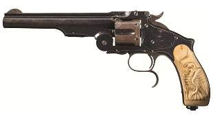 Smith & Wesson No. 3 Third Model Russian Revolver