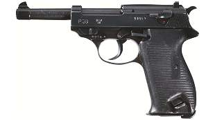 """Documented French Police Mauser """"svw/46"""" P.38 Pistol"""